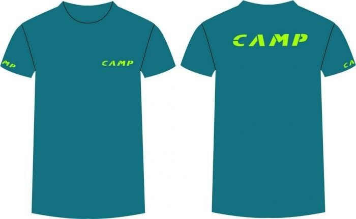 Футболка CAMP INSTITUTIONAL MALE / EXLARGE Green blue